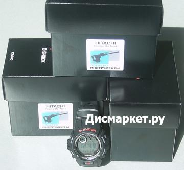 Акция! Часы G-shock Casio в подарок при покупке профессиональной косы Hitachi